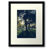 As the Day Grows Long Framed Print