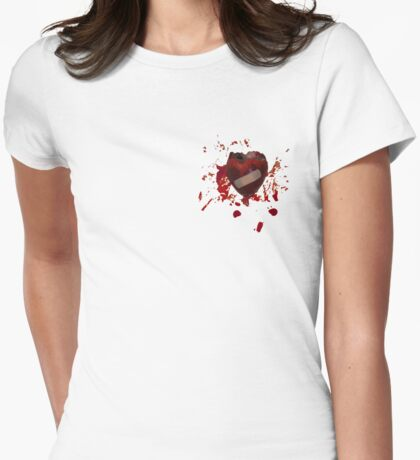 It will heal # 2 (Heart on heart) Womens Fitted T-Shirt