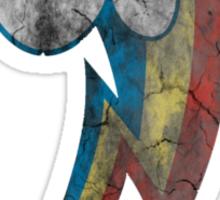 Rainbow Dash Grunge Cutie Mark Tshirt Sticker