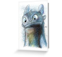 Garish Toothless Greeting Card