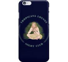 Tropicana Lounge Hula Girl 4 iPhone Case/Skin