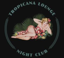 Tropicana Lounge Hula Girl 2 by Frank Schuster