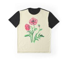 Wild Poppies Graphic T-Shirt