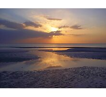 Barefoot Reflections Photographic Print