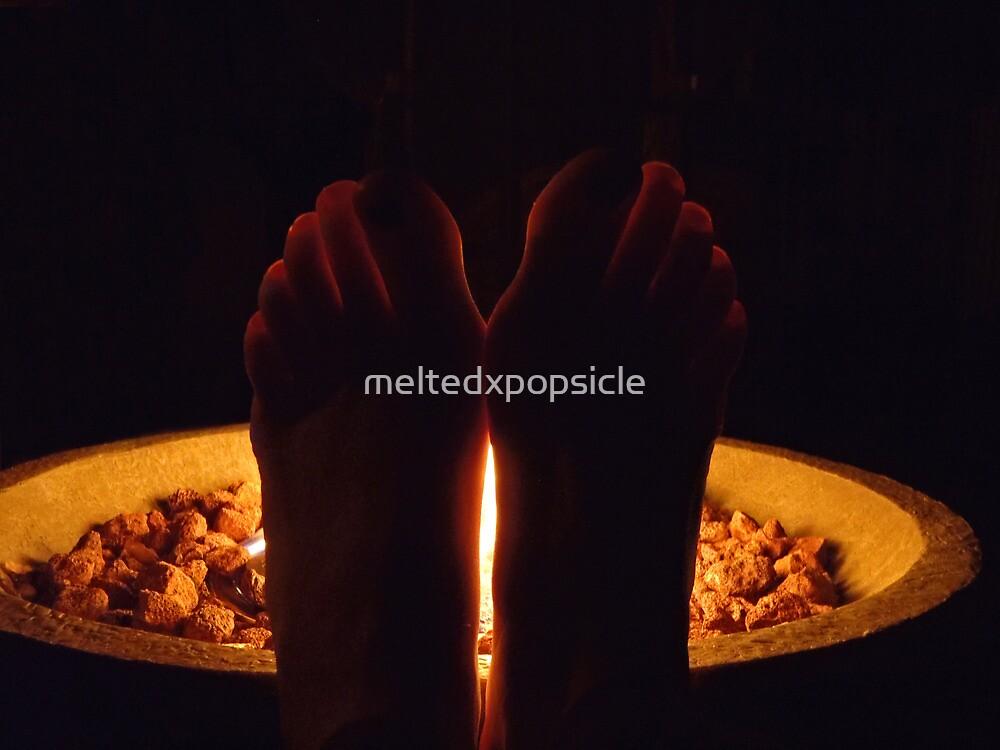 Fiery Toes by Jessica Liatys