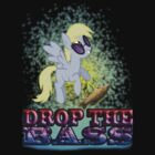 Derpy Drops the Bass by KittyLover
