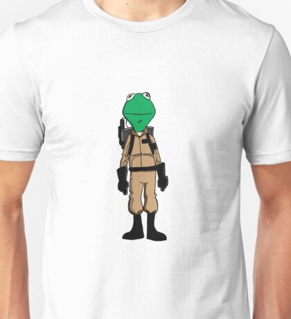 Ghostbuster Frog Unisex T-Shirt