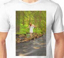 What angels do in their free time – Vad änglarna gör på deras fritid Unisex T-Shirt