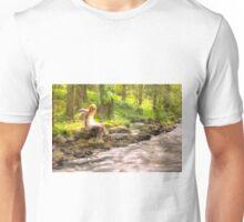 Enjoying the creation of the Boss – Njuter av Chefens skapelse Unisex T-Shirt
