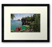 2314-Stable Waters Framed Print