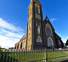 St Joseph's Catholic Church. Warrnambool. Victoria, Australia. by Ralph de Zilva