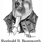 Reginald. B. Bearsworth (A Gentleman Bear) by Miln3r