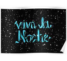 viva la noche Poster