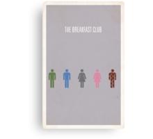 The Breakfast Club minimalist poster Canvas Print