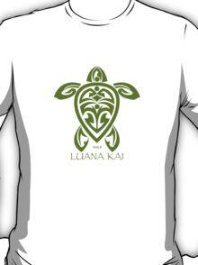 Green Tribal Turtle / Luana Kai Maui T-Shirt