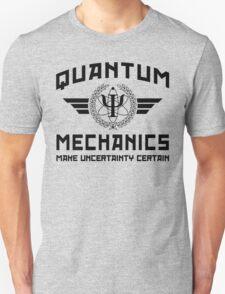 QUANTUM MECHANICS Unisex T-Shirt