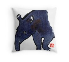 The Tapir Throw Pillow