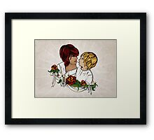 Nyssa and Dylan Framed Print