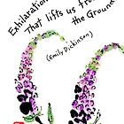A Year of Etegami Flowers by dosankodebbie
