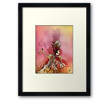 One Way Ticket to Pluto Framed Print