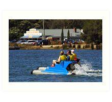 Anglesea River Art Print