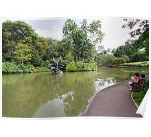 Singapore Botanical Gardens 2 Poster