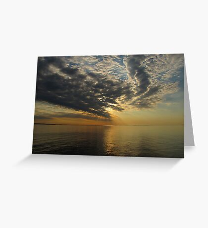 Superior Sunset Greeting Card