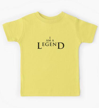 I AM A LEGEND - Light Version Kids Tee