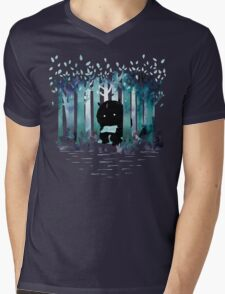 A Quiet Spot Mens V-Neck T-Shirt