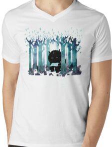 A Quiet Spot Mens V-Neck T-Shirt