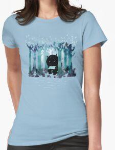 A Quiet Spot Womens Fitted T-Shirt