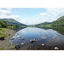 Loch Lubhair, the Highlands , Scotland Photographic Print