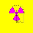 Warning Radiation Sign Template by Rupert Russell