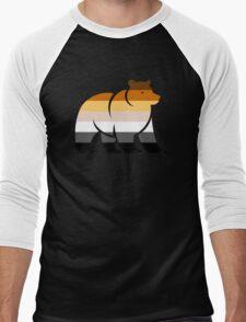 BEAR FLAG BEAR Men's Baseball ¾ T-Shirt