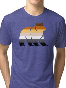 BEAR FLAG BEAR Tri-blend T-Shirt