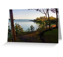Seven Spirit Bay - HDR Greeting Card