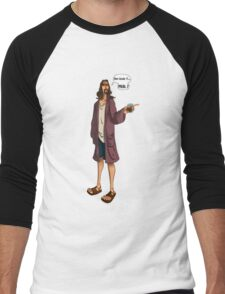 The Dude Men's Baseball ¾ T-Shirt