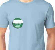 "The Inbetweeners - ""Nice Badge"" make your own Unisex T-Shirt"