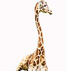 Giraffe iphone by KBritt