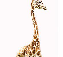 Giraffe iphone by KBritt