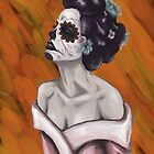 Sugar skull Geisha  by Goosemouse