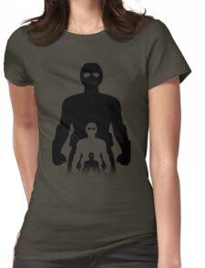 Shrink Shrank Shrunk Womens Fitted T-Shirt