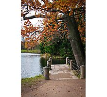 The Catherine Park, Pushkin Tsarskoe Selo, Saint-Petersburg, Russia Photographic Print