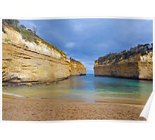 Lock Ard Gorge. Port Campbell National Park, Victoria, Australia. (2) Poster