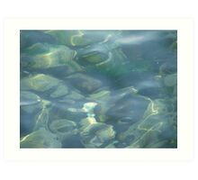 Water transparency Art Print