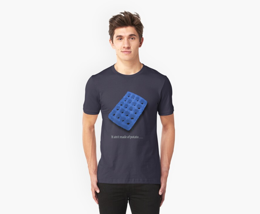 Blue waffle by Goosemouse