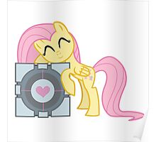 Fluttershy Cube Poster