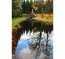 The Catherine Park, Pushkin  Tsarskoe Selo , Saint-Petersburg, Russia Photographic Print