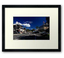 Main Street Billinudgel Framed Print