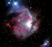 Orion Nebula by kmatm